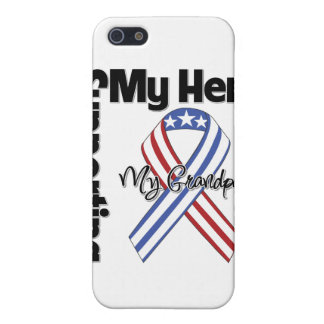 Grandpa - Military Supporting My Hero Cases For iPhone 5
