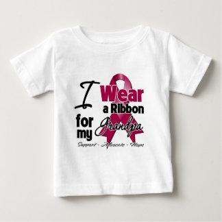 Grandpa - Multiple Myeloma Ribbon Baby T-Shirt