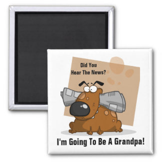 Grandpa News (Customizable) Magnet