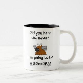 Grandpa News Mug