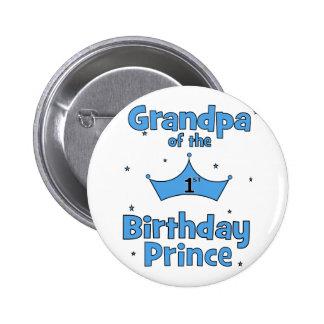 Grandpa of the 1st Birthday Price 6 Cm Round Badge