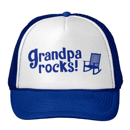Grandpa Rocks Mesh Hats