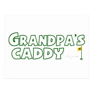 Grandpa s Caddy Postcard