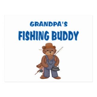 Grandpa s Fishing Buddy Bears Post Card