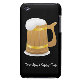 Grandpa s Sippy Beer customizable Barely There iPod Covers