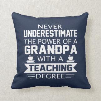 Grandpa Teacher Cushion