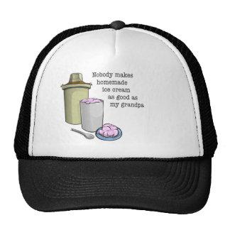 Grandpa the ice cream maker mesh hats
