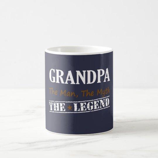 Grandpa The Legend Coffee Mug