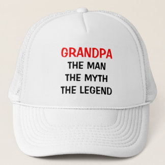 Grandpa the man myth legend hat