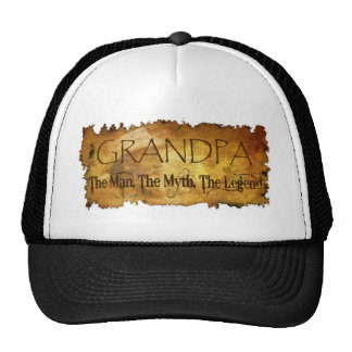 GRANDPA The Man The Myth the legend Cap