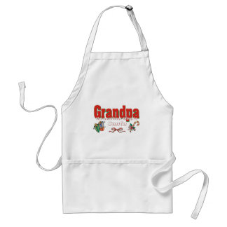 Grandpa The Next Best Thing To Santa Apron