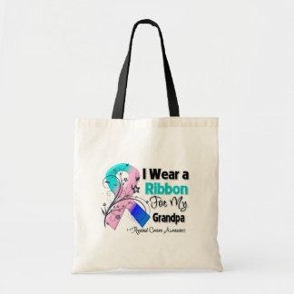 Grandpa - Thyroid Cancer Ribbon Bags