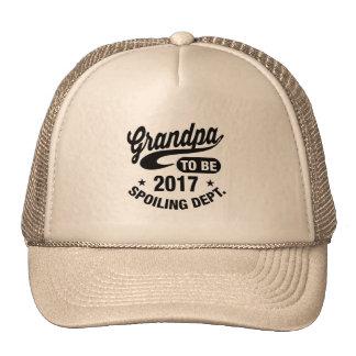 Grandpa To Be 2017 Cap