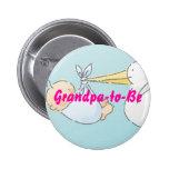 Grandpa-to-Be 6 Cm Round Badge