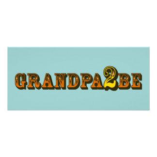 Grandpa To Be Customised Rack Card