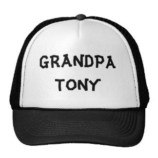 GRANDPA TONY - Customized Cap