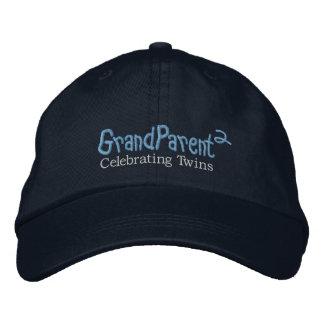 GrandParent (MDrk) Embroidered Baseball Caps