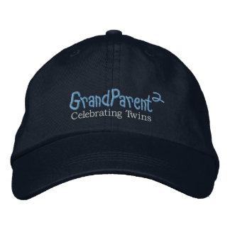 GrandParent (MDrk) Embroidered Baseball Caps