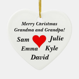 Grandparent Ornament