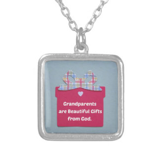 Grandparents are Beautiful GIfts From God Necklace