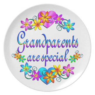 Grandparents are Special Plate
