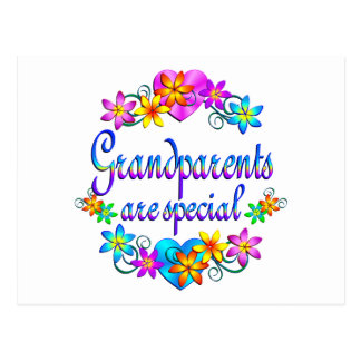 Grandparents are Special Post Card