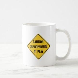 Grandparents at Play Funny Coffee Mug