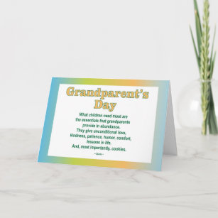 Grandparents day cards zazzle uk grandparents day 2 greeting card m4hsunfo