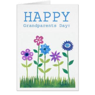 Grandparents' Day Card - Flower Power