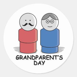 Grandparent's Day Round Sticker