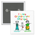 Grandparents Gift Pinback Buttons
