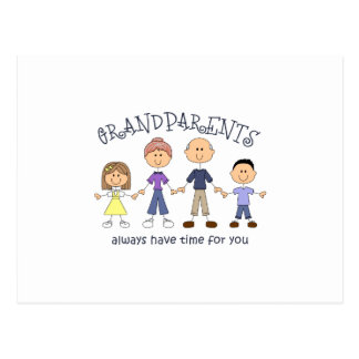 GRANDPARENTS HAVE TIME FOR YOU POSTCARD