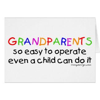 Grandparents Love Card