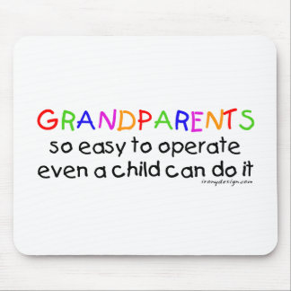 Grandparents Love Mouse Mat