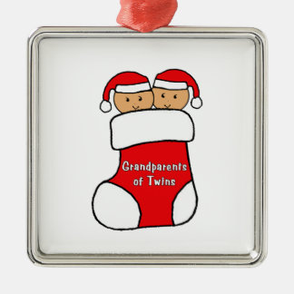 Grandparents of Twins Ornament