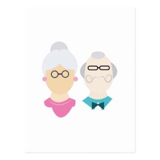 Grandparents Postcard