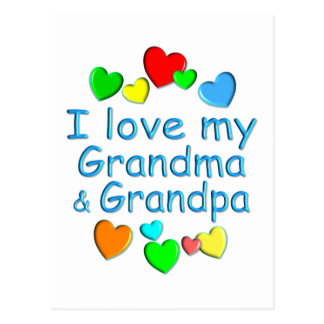 Grandparents Post Card