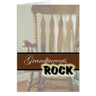 Grandparents Rock-Happy Grandparents Day Greeting Card