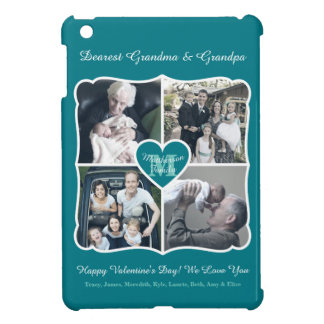 Grandparents Valentine Personalized Instagram Grid iPad Mini Case