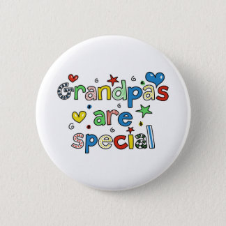 Grandpas are Special 6 Cm Round Badge
