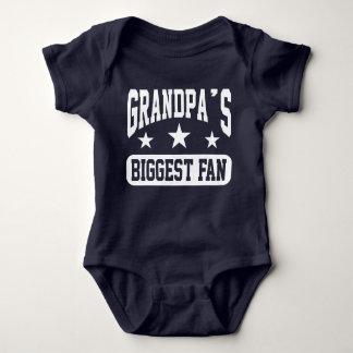 Grandpa's Biggest Fan Baby Bodysuit