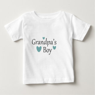 Grandpa's Boy Baby T Shirt