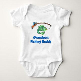 Grandpa's Fishing Buddy Baby Bodysuit