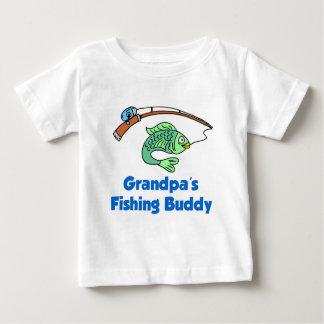 Grandpa's Fishing Buddy Baby T-Shirt