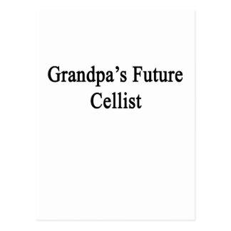 Grandpa's Future Cellist Postcard