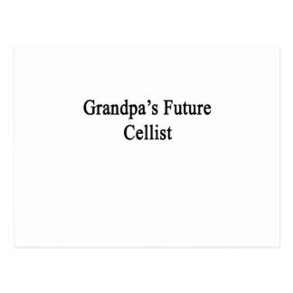 Grandpa's Future Cellist Postcard