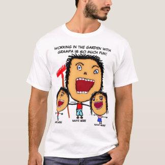 Grandpa's Garden Cartoon T-Shirt