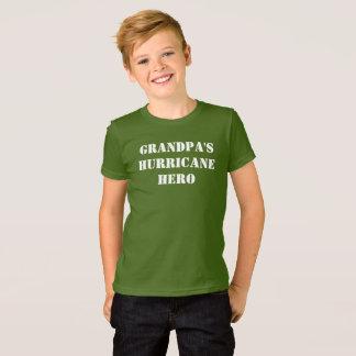 Grandpa's Hurricane Hero T-Shirt