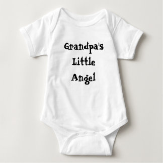 Grandpa's Little Angel Baby Bodysuit