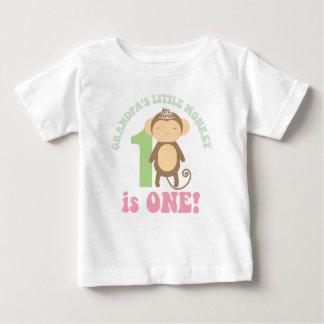Grandpa's Little Monkey Tee Shirts